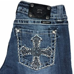 "MISS ME Jeans 34"" length boot cut"